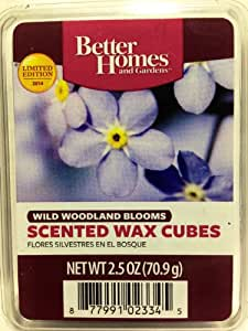 Better homes gardens scented wax melts limited edition for 2014 wild woodland for Better homes and gardens wax melts
