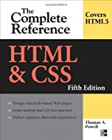 HTML & CSS: The Complete Reference, 5th Edition Front Cover