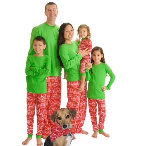 Christmas Cheer Family Matching Flannel Loungesets By Sleepytimepjs (18-24M) front-926131