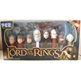 The Lord of the Rings 8-piece Pez Collector's Series - 8 Pez Dispensers of Characters from LOTR