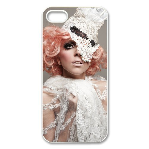 CoverMonster Lady Gaga hard case cover skin for Iphone 5 5S, Lady Gaga Pop Dance Music Iphone 5 5S case
