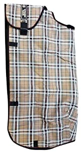 Kensington KPP Supermesh Adjustable Blanket, Deluxe Black Plaid, 60-68-Inch