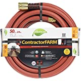 Element ELCF34050 Contractor/Farm Lead Free, Kink Resistant 3/4-Inch-by-50-Foot Garden Hose, Brick