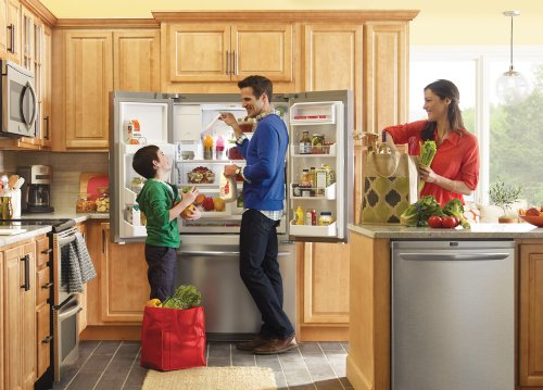 Frigidaire Gallery Appliance Package with French Door Refrigerator, Double Oven Convection Range, Integrated Dishwasher and Over-the-Range Microwave (FGEF306TMF, FGHB2866PF, FGEF306TMF, FGHD2465NF, FGMV174KF) PKG #LD02