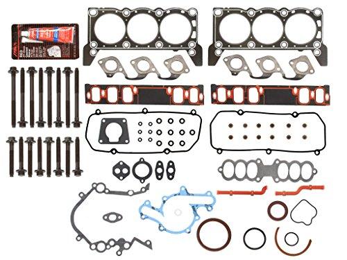 Engine Full Gasket Set Bearings Rings Fits 94-95 Ford Mustang 3.8L V6 OHV 12v