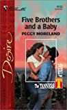 img - for Five Brothers And A Baby: The Tanners Of Texas (Silhouette Desire) book / textbook / text book