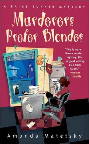 Image for Murderers Prefer Blondes (Paige Turner Mysteries)