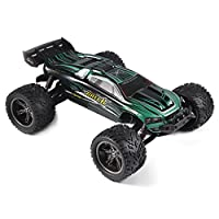 HOSIM RC Trucks S912 33+MPH 2WD 1:12 Scale High Speed Remote control Off Road RC Truggy Car (Green)