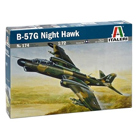 Italeri - I174 - Maquette - Aviation - B-57g Night Hawk