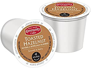 Community Coffee Toasted Hazelnut K-Cup for Keurig Brewers 18 Count