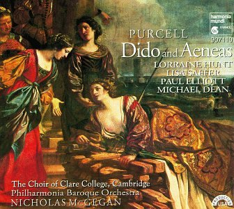 "Purcell: Dido and Aeneas; Music for ""The Gordian Knot Unty'd"""
