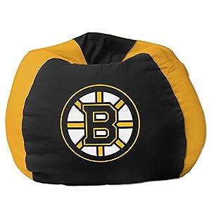 Northwest Company NHL Bean Bag Chair, Boston Bruins, Cotton / Polystyrene