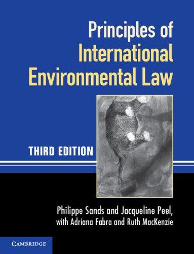 Principles of International Environmental Law