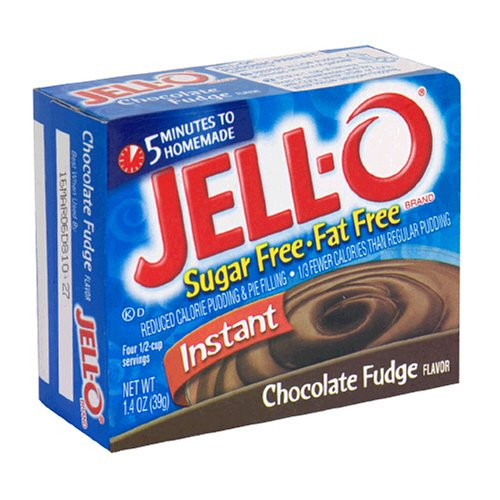 Buy Jell-O Sugar-Free Instant Pudding & Pie Filling, Chocolate Fudge, 1.4-Ounce Boxes (Pack of 24) (JELL-O, Health & Personal Care, Products, Food & Snacks, Baking Supplies, Pie & Cobbler Fillings)