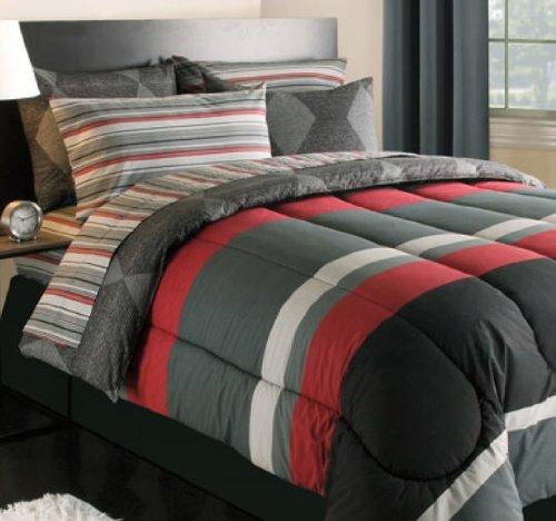 Striped Teen Boys Comforter
