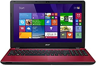 "Acer Aspire E5-521-4673 - Portátil de 15.6"" (AMD Quad-Core A4-6210, 4 GB de RAM, Disco HDD de 500 GB, AMD Radeon R3, Windows 8.1 x64 actualizable gratuitamente a Windows 10), rojo -Teclado QWERTY Español"
