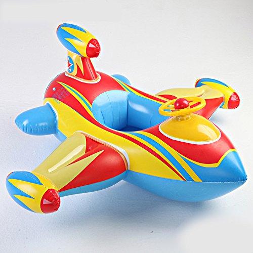 ウルトラ警備隊風 ジェット機 ボート・フロート ベビー浮き輪【並行輸入品】