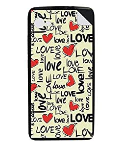 Techno Gadgets Back Cover sticker for Xolo A510s