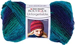 Red Heart E793.3935 Boutique Unforgettable Yarn, Dragonfly