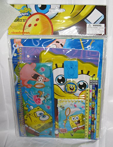 SpongeBob 11-Piece Stationary Set