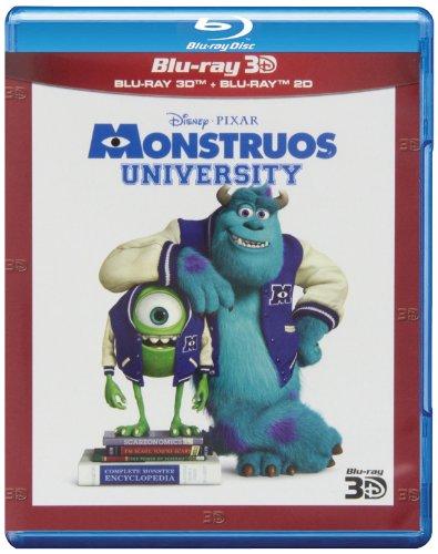 Monstruos University (Blu-ray 3D + Blu-ray 2D)
