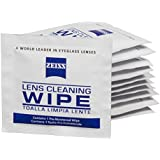 Zeiss Pre-Moistened Lens Cleaning Wipes - Cleans Bacteria, Germs and without Streaks for Eyeglasses and Sunglasses - (400 Count)