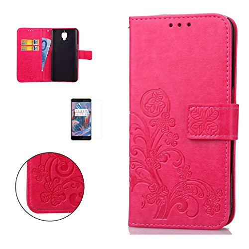 casehome-one-plus-3-wallet-fundaen-relieve-carcasa-pu-leather-cuero-suave-impresion-cover-con-flip-c