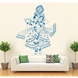 Hoopoe Decor Lord Krishna Wall Stickers And Decals - B011GUOO04