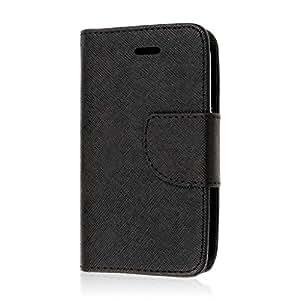 Prelude 2 Wallet Case,MPERO FLEX FLIP 2 Wallet Case for ZTE Prelude 2 Z667 - Black
