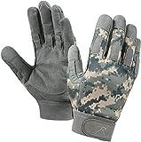 Large Digital Camo Light Weight All Purpose Duty Moisture Wicking Work Gloves