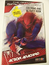 The Amazing Spiderman Coloring amp Activity Book with Stickers  Action Arachnid 525 x 825