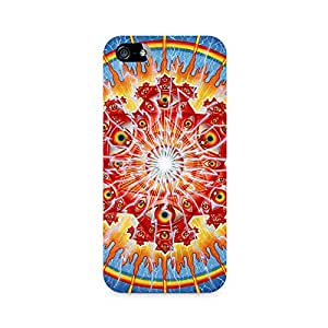 Rayite Psychedelic Eyes Premium Printed Case For Apple iPhone 4/4s