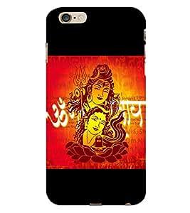 Shiva Paravati 3D Hard Polycarbonate Designer Back Case Cover for Apple iPhone 6S Plus