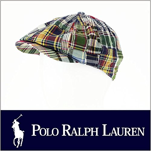 (ポロ ラルフローレン) POLO RALPH LAUREN 帽子 チェック キャスケット S/M ABN