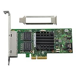 Generic I350-T4V2, Intel I350-T4V2 PCI-E Four RJ45 Gigabit Ports Server Adapter NIC