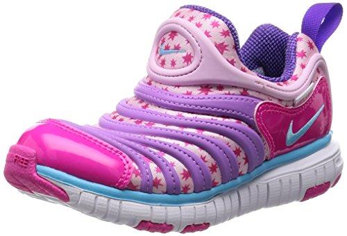 [Nike] NIKE DYNAMO FREE (PS) 343738-614 343738-614 (Prism pink / tide pool blue / fushaglou / pink / 11 C)