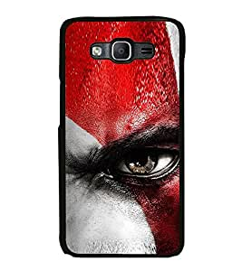 Vizagbeats Angry Eye Back Case Cover For Samsung Galaxy On7