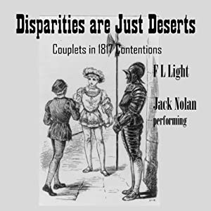 Disparities Are Just Deserts: 1844 Couplets in Contention | [F. L. Light]
