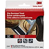3M Safety-Walk Outdoor Tread, Black, 2-Inch by-180-Inch