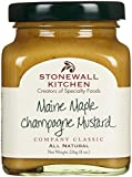 Stonewall Kitchen Maine Maple Champagne Mustard, 8-Ounces