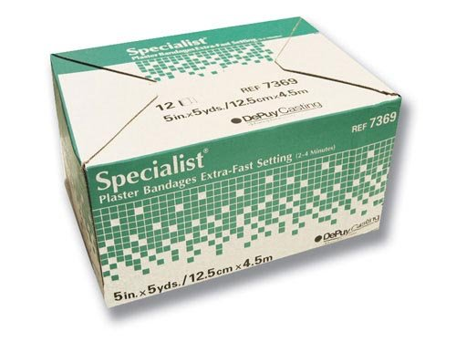 `Specialist Plaster Bandages X-Fast Setting 6