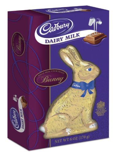 Solid Milk Chocolate Long Eared Bunny