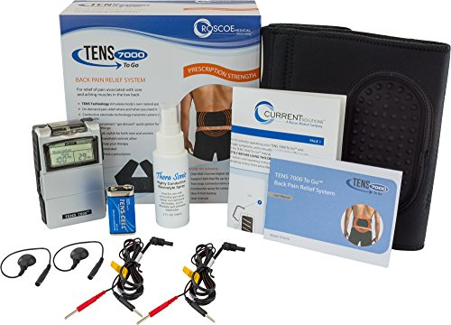 Roscoe Medical DT6070 TENS 7000 To Go Back Pain Relief System (Back Brace Tens Unit compare prices)