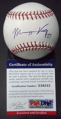 Matt Kemp San Diego Padres Signed Autographed Official MLB Baseball PSA/DNA COA #x56553