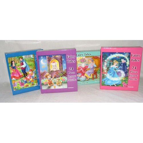 24 Pc. Fairy Tale Puzzle