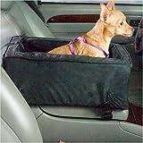 Snoozer Luxury Console Pet Car Seat, Large Luxury, Anthracite/Black