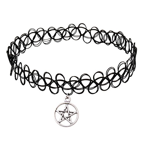Girlprops Tattoo Choker Necklace, Y…