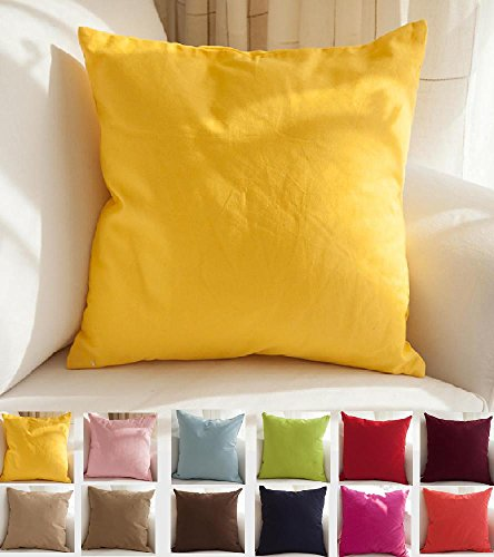 tangdepot-cotton-canvas-throw-pillow-cover-handmade-many-colors-avaliable-16x16-yellow
