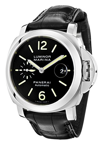 panerai-luminor-44-mm-nero-pelle-uomo-band-acciaio-caso-cristallo-zaffiro-orologio-analogico-automat