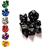 10 Pcs Set Polyhedral Dice for Table Game - Seven Colors for Choice